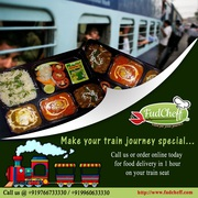 Food on your train travel by FudCheff
