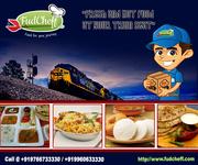 Order food in train