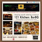 121 Kitchen : BarBQ -  Family restaurants in Wakad,  Pune