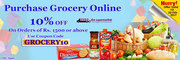 Purchase Grocery Online with 10% off on Needs The Supermarket