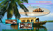 Backwaters Houseboat Tours | Kerala Houseboat Holidays - MUNROE ISLAND