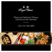 Experience authentic Chinese at Royal China located in Delhi